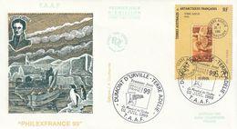 Terres Australes Et Antarctiques Françaises 1999 Crozet - FDC