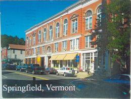 The Bank Block, Springfield, VT - Etats-Unis