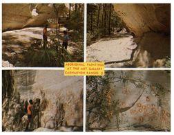 (A 38) Australia - Aboriginal Painting At Carnarvon Ranges Art Gallerie - Aborigenes