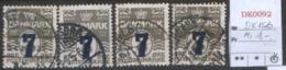 DANMARK DK 156 Mi $4 - 1864-04 (Christian IX)