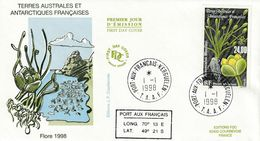 Terres Australes Et Antarctiques Françaises 1998 Flore - FDC
