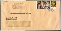 """(1942) PZU, Bund MiNr. 2679, Gestempelt Am 03.07.2008 In 37287 WEHRETAL, UB """"zz"""" Postagentur, Sauber Gestempelt, Blumen - Gebraucht"""