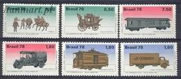 Brazil 1978 Mi 1676-1681 MNH ( ZS3 BRZ1676-1681 ) - Voitures