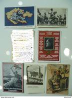 CPA / 6 Cartes Postales Anciennes Allemandes / Soldats Hitler Fürher - Militaria