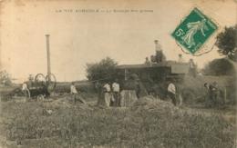 LA VIE AGRICOLE LE BATTAGE DES GRAINS EDITION MORIER - Unclassified
