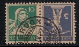 Suisse // Schweiz // Switzerland // Se-Tenant // Tell-fils + Tell-Père  No.Z7 Oblitéré - Se-Tenant