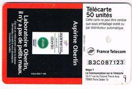 FRANCE Aspirin Aspirine Oberlin France Telecom - Télécartes