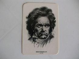 Composer Beethoven Portugal Portuguese Pocket Calendar 1985 - Klein Formaat: 1981-90