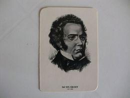 Composer Schubert Portugal Portuguese Pocket Calendar 1985 - Klein Formaat: 1981-90