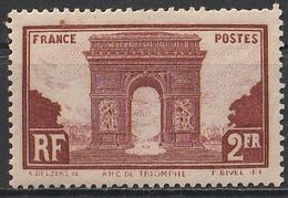 Timbre France  N° Yvert 258 De 1929 Neuf ** Cote 95 € - Unused Stamps