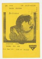 QSL Card 27MC Bettona Aalst-waalre Eindhoven (NL) - CB