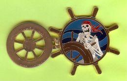 Pin's BD Disney Pirates Des Caraïbes Squelette Gouvernail (2 Photos)  - 2O16 - Disney