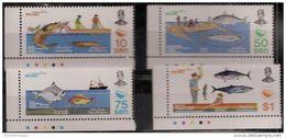 Brunei - 1983 Fishery Resources MNH **    SG 336-9 - Brunei (1984-...)