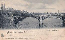 Gruss Aus Basel - UPU-Frankatur - 1900              (P-250-00330) - BS Basle-Town