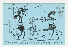 QSL Card 27MC Rumboon Rotterdam (NL) - CB