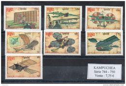 Kampuchéa. Machines Volantes - Kampuchea