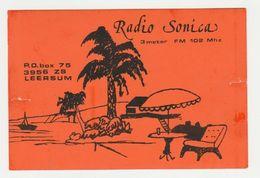 QSL Card 27MC Radio Sonica Leersum (NL) - CB