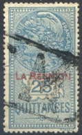Réunion - Timbre De Quittance - 25c. Bleu - (F1598) - Réunion (1852-1975)