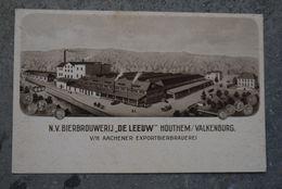 Valkenburg   Pk Cpa  Bierbrouwerij Brasserie Brauerei De Leeuw Houthem Reklamekaart - Valkenburg