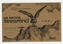 QSL Card 27MC Zeearend Hardinxveld-giessendam (NL) - CB