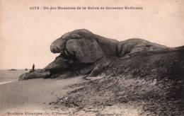CPA - GUISSENY KERLOUAN - Un Des Montres De La Plage - Edition Hamonic - Kerlouan
