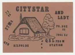QSL Card 27MC Citystar Silvolde (NL) - CB