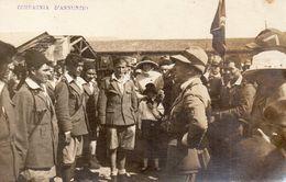 Carte Photo-militaria-compagnia D'annunzio-fiume-croatia - Zonder Classificatie