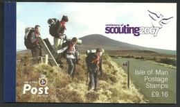 2007 Isle Of Man Europa: Centenary Of Scouting Prestige Booklet (** / MNH / UMM) - Europa-CEPT