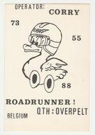 QSL Card 27MC Raodrunner Overpelt (B) - CB