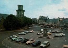 CPM - LESNEVEN - PLACE Du Gale LE FLÔ … (voitures) - Edition Jos Le Doaré - Lesneven