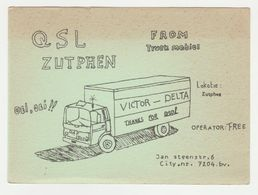 QSL Card 27MC Victor Delta Daf Zutphen (NL) - CB
