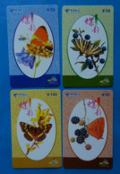 China X4 Butterfly Papillon Mariposa Schmetterling Farfalla Butterflies Insect - Papillons
