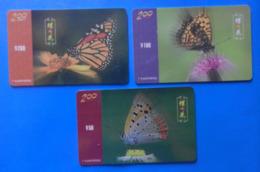 China X3 Butterfly Papillon Mariposa Schmetterling Farfalla Butterflies Insect - Papillons