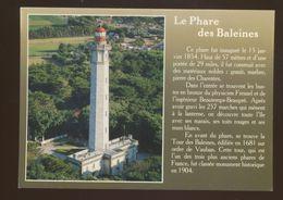 Phare Des Baleines De L'Ile De Ré - Lighthouses