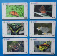 China X6 Butterfly Papillon Mariposa Schmetterling Farfalla Butterflies Insect - Papillons