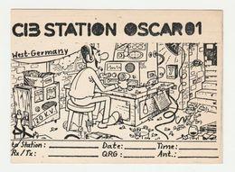 QSL Card 27MC Oscar 1 Hagen (D) - CB