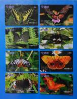 China X8 Butterfly Papillon Mariposa Schmetterling Farfalla Butterflies Insect - Papillons