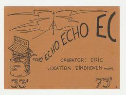 QSL Card 27MC Echo Eindhoven (NL) - CB