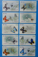 China X10 Butterfly Papillon Mariposa Schmetterling Farfalla Butterflies Insect - Papillons