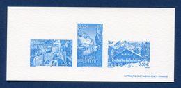 France - Épreuve De Luxe - Château Cathare - Les Gorges Du Tarn - Chalet Des Alpes - 2004 - Luxusentwürfe