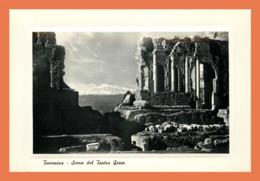 A625 / 113 Italie TAORMINA Scena Del Teatro Greco - Italie