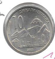 *serbia 10 Dinara  2005 Km 37 - Serbie