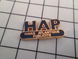 115e Pin's Pins / Rare & Belle Qualité !!! THEME : MARQUES / HAP HAVAS ATLANTIQUE PUBLICITE - Marques