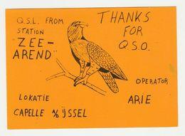 QSL Card 27MC Zeearend Capelle Aan De Ijssel (NL) - CB