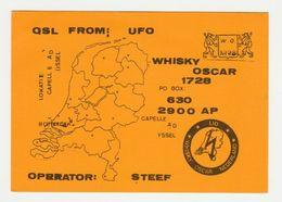 QSL Card 27MC UFO Capelle Aan De Ijssel (NL) - CB
