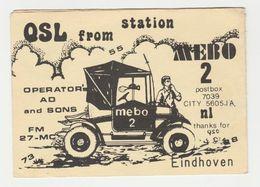 QSL Card 27MC Mebo 2 Eindhoven (NL) - CB