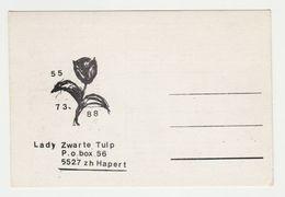 QSL Card 27MC Lady Zwate Tulp Hapert (NL) - CB