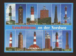 Leuchttürme An Der Nordsee - Lighthouses
