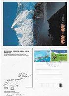Pohlednice Z Mezinárodní Expedice CHO-OJU 1994 - Gruss Aus.../ Grüsse Aus...