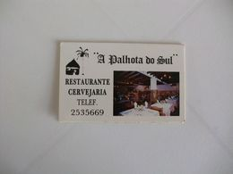 Restaurante A Palhota Do Sul Vale De Milhaços Almada Portugal Portuguese Pocket Calendar 1992 - Calendari